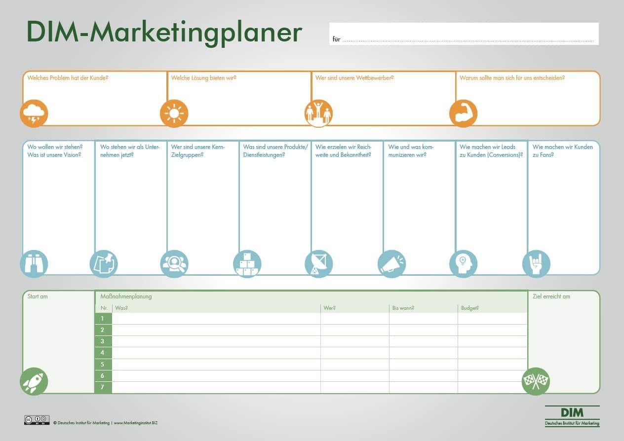 DIM-Marketingplaner